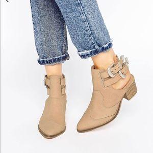 Asos western style booties